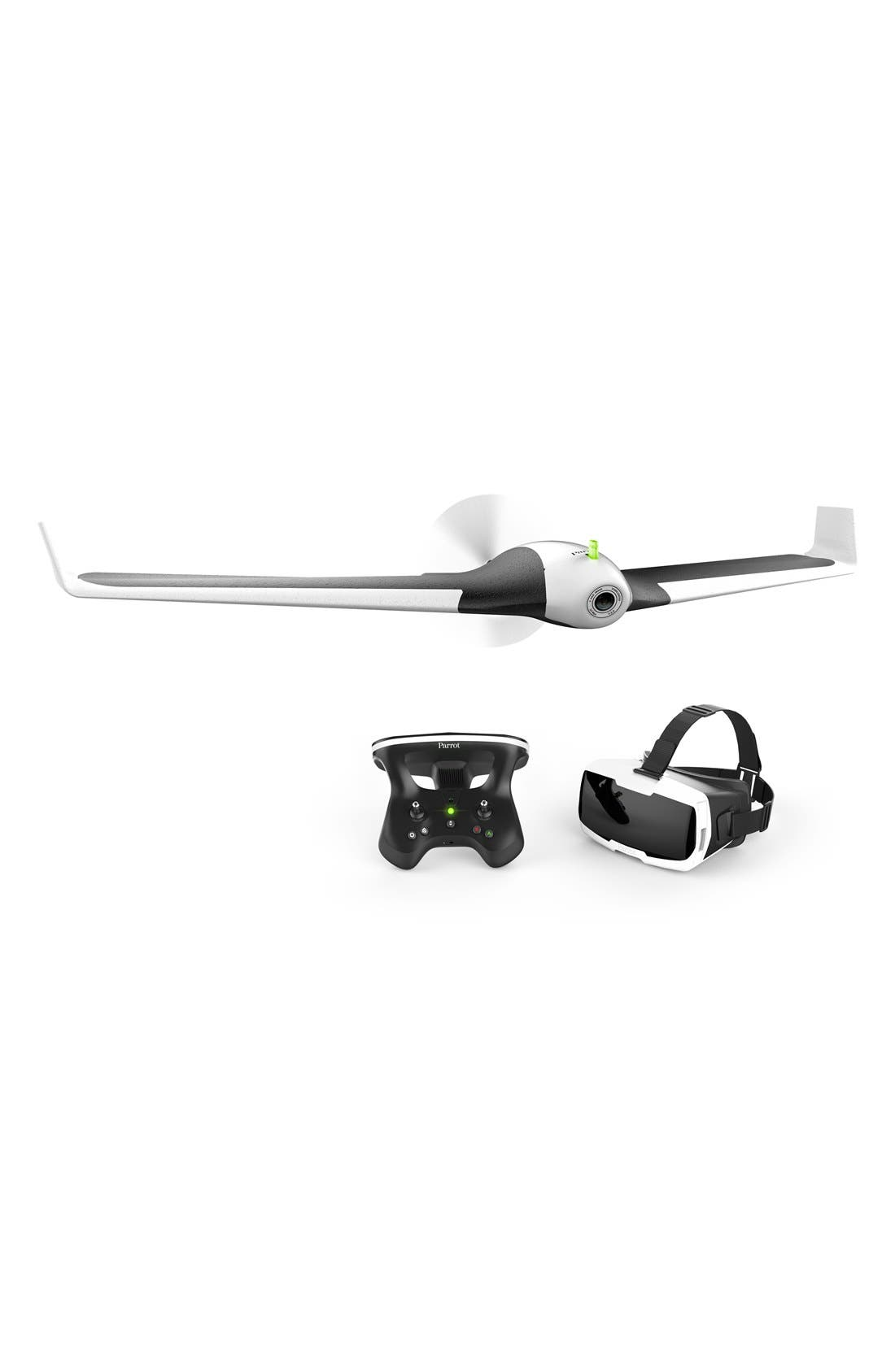 Parrot Disco Drone with Cockpitglasses FPV Headset & Skycontroller 2