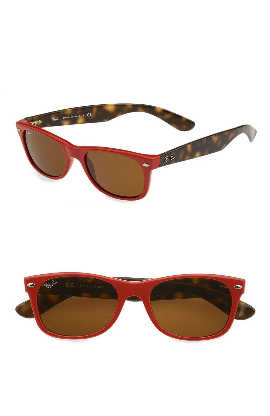 Alternate Image 1 Selected - Ray-Ban Small New Wayfarer 52mm Sunglasses