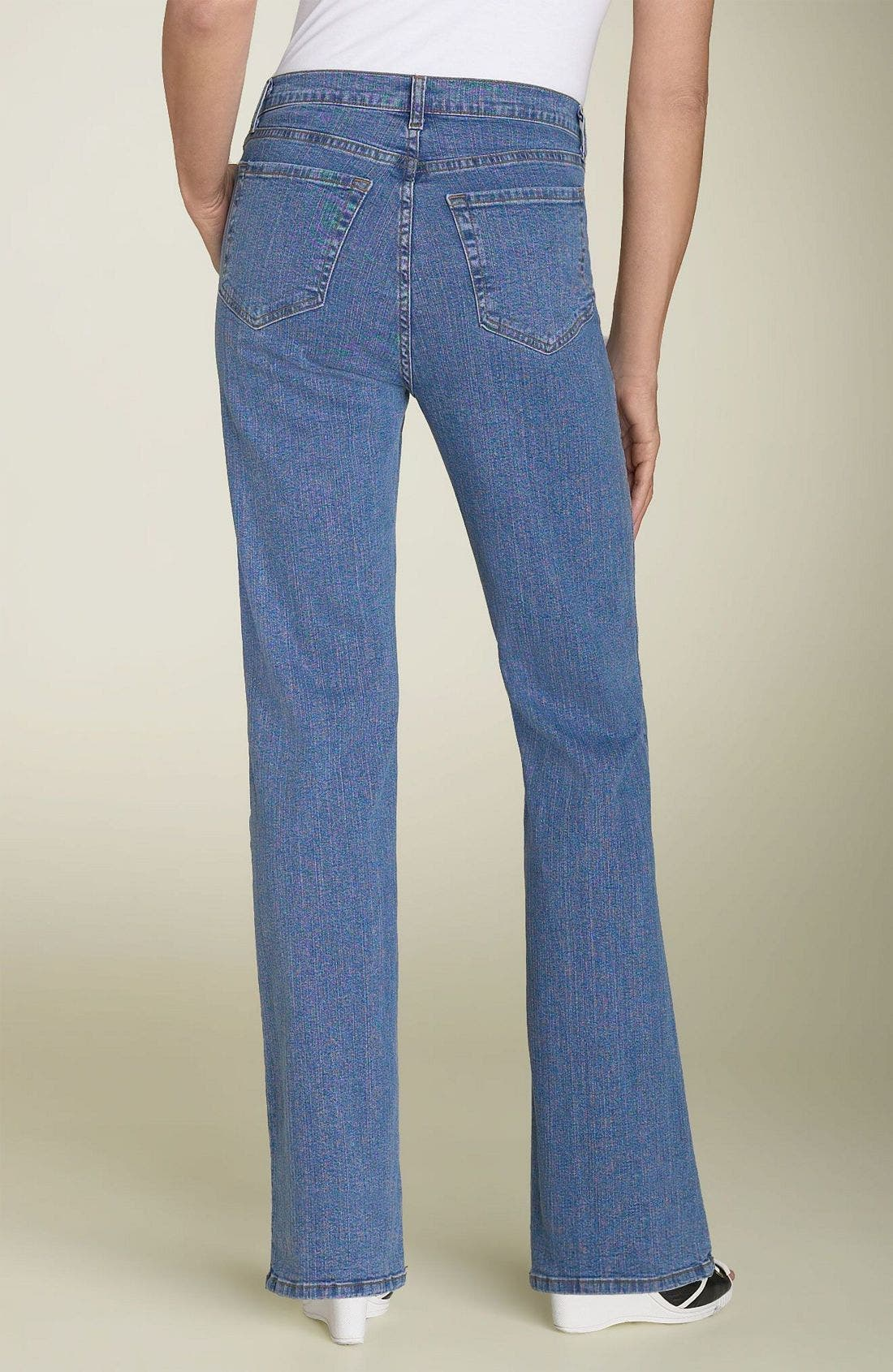Alternate Image 2  - Not Your Daughter's Jeans Tummy Tuck Stretch Jeans (Petite)