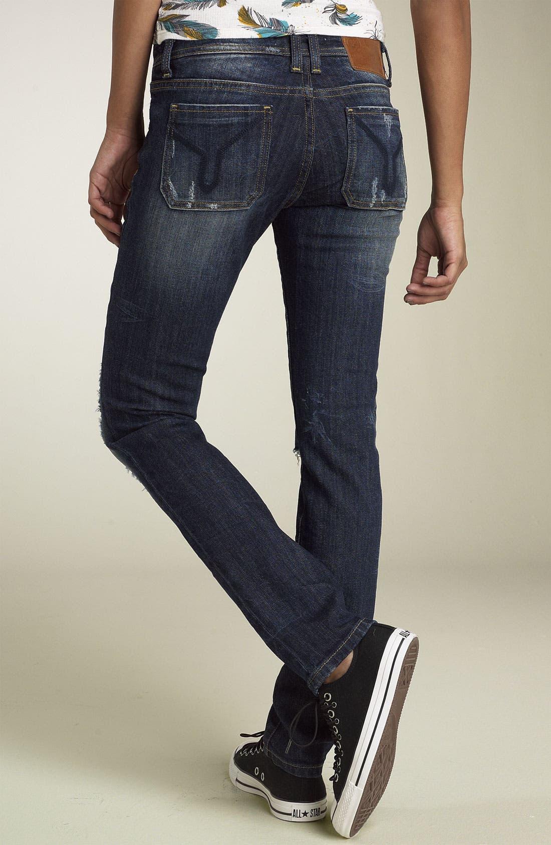 Alternate Image 2  - Vigoss 'Ritz' Skinny Stretch Jeans (Juniors)
