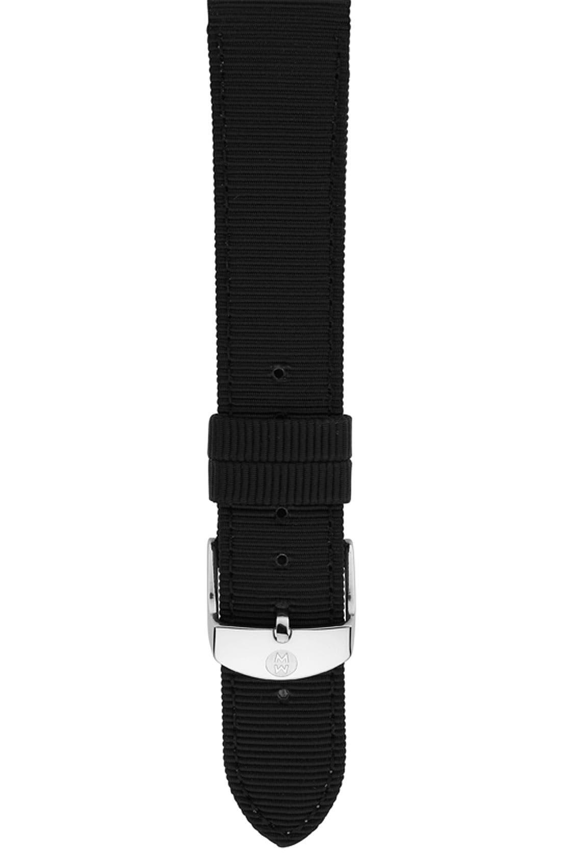 Main Image - MICHELE 16mm Grosgrain Watch Strap