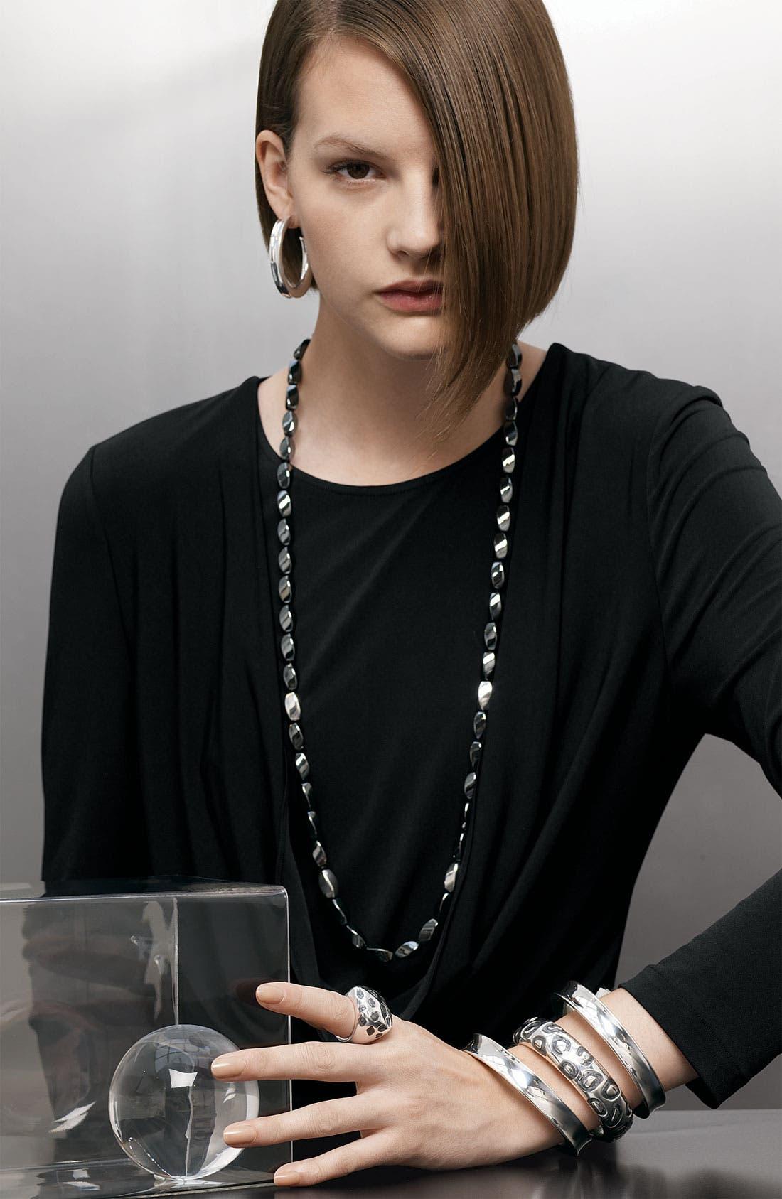 Alternate Image 3  - Simon Sebbag Concave Hoop Earrings