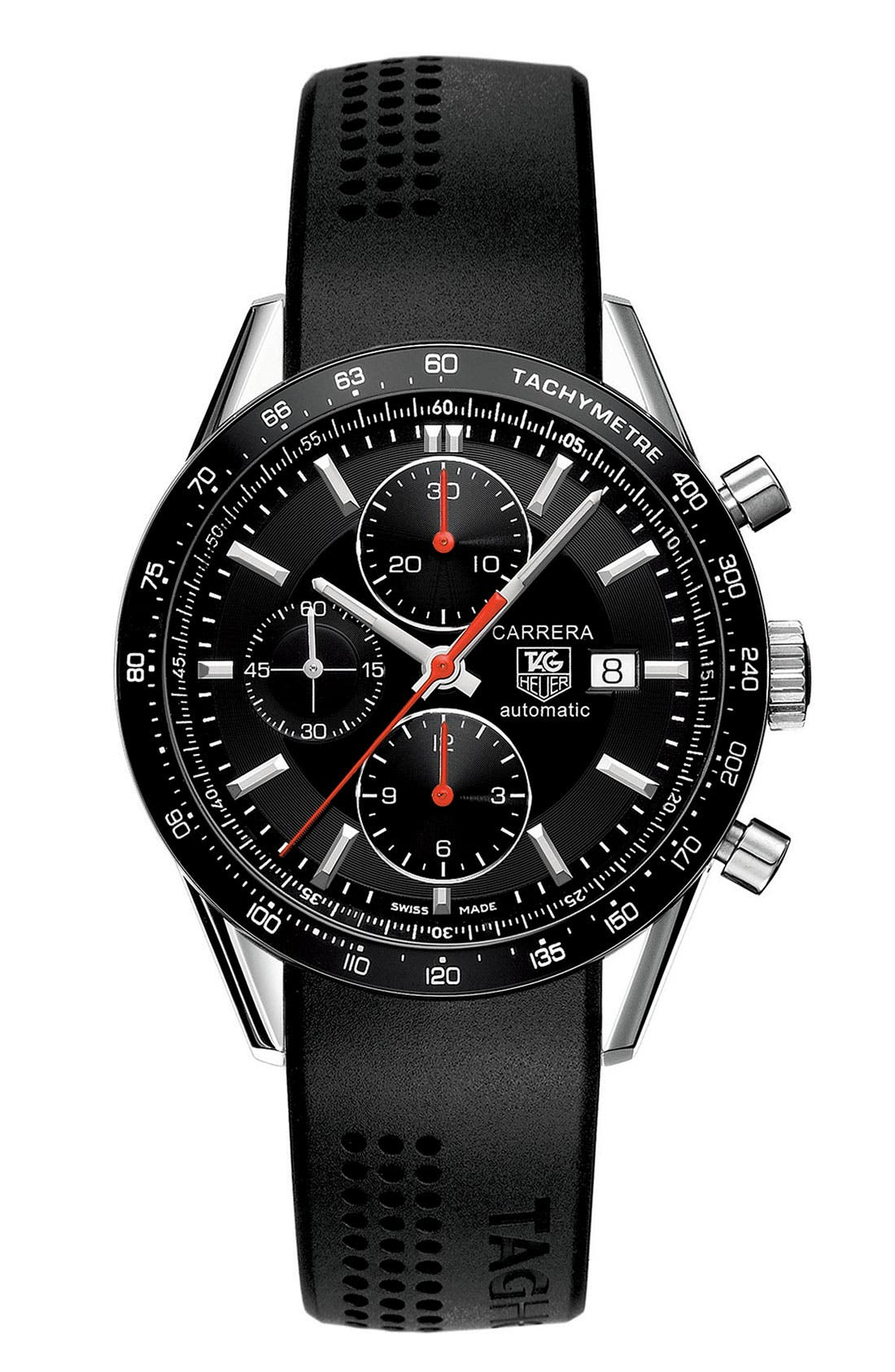 Alternate Image 1 Selected - TAG Heuer 'Carrera' Tachymeter Watch