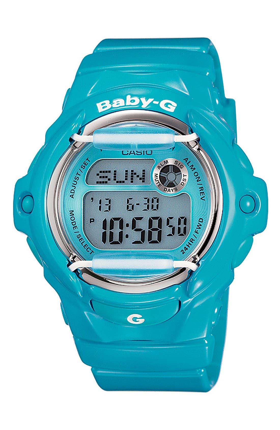 Alternate Image 1 Selected - Casio 'Baby-G Vivid Jelly' Digital Watch