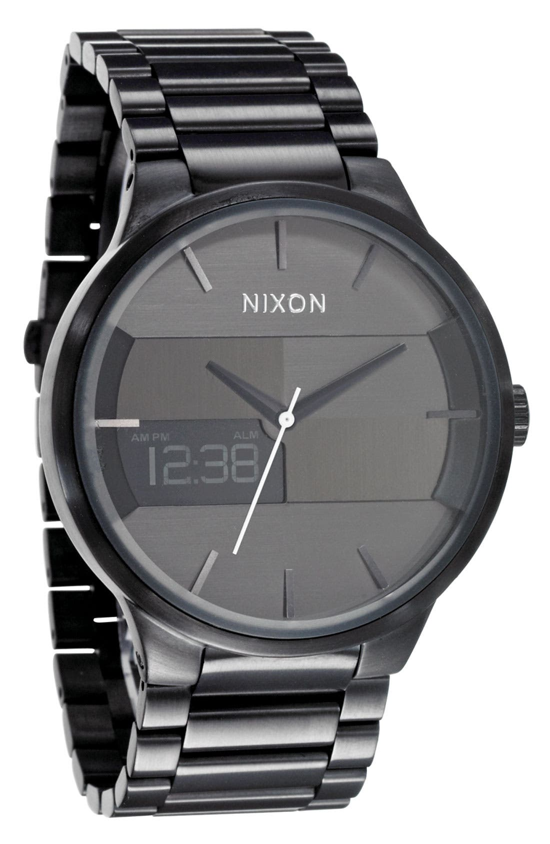 Alternate Image 1 Selected - Nixon 'The Spencer' Bracelet Watch