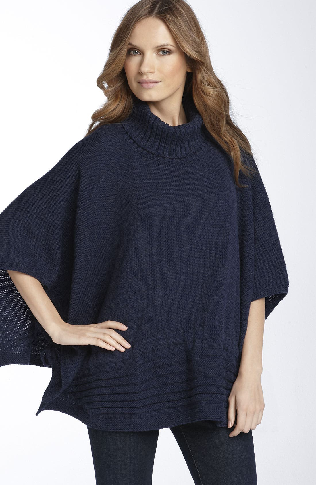 Alternate Image 1 Selected - Nordstrom Convertible Knit Poncho