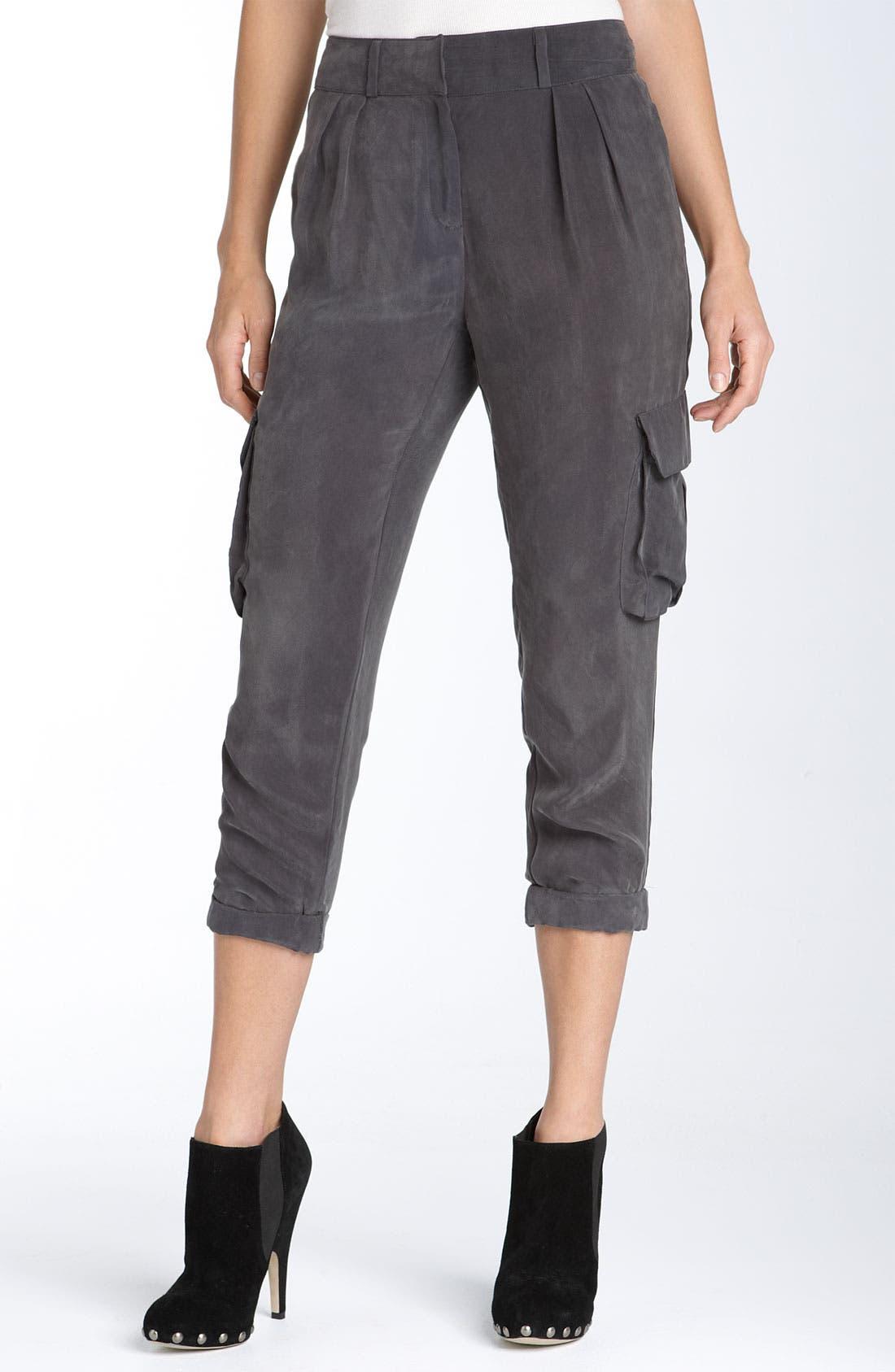 Alternate Image 1 Selected - Ella Moss 'Bronson' Woven Pants