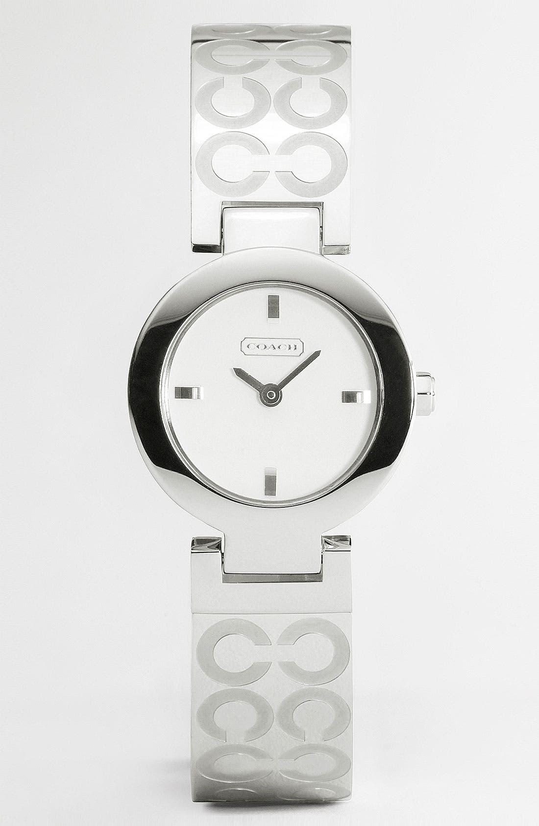 Alternate Image 1 Selected - COACH 'Mercer - Optic C' Bangle Watch