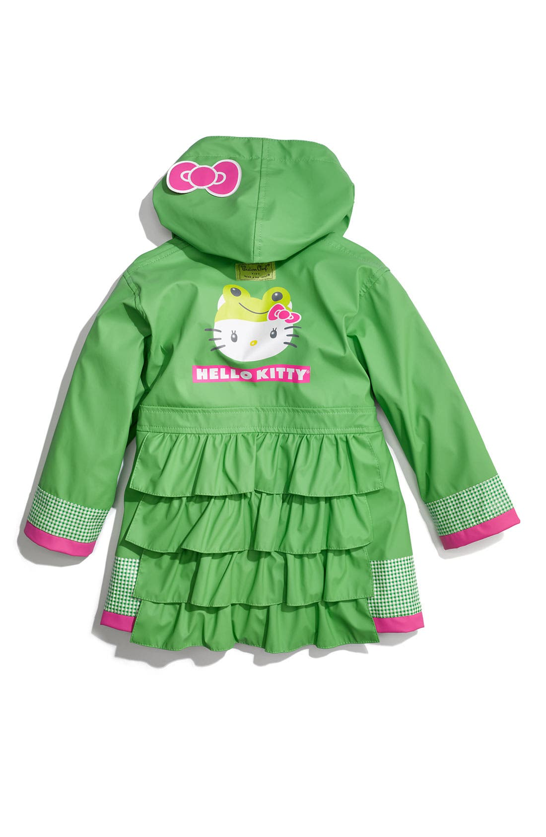Alternate Image 3  - Western Chief 'Hello Kitty® Froggy' Raincoat (Toddler Girls & Little Girls)