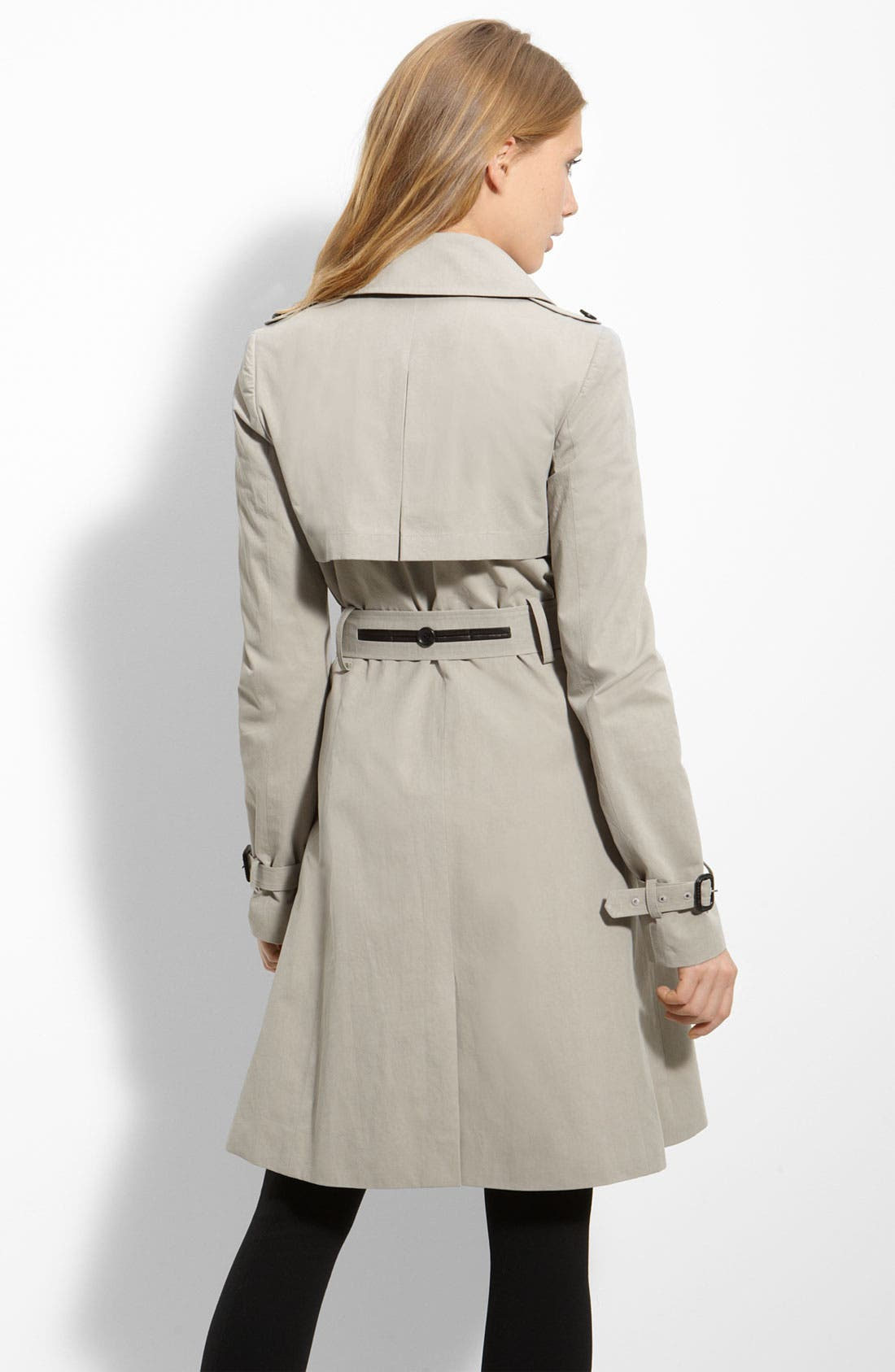 Alternate Image 2  - Elizabeth and James Belted Twill Trench