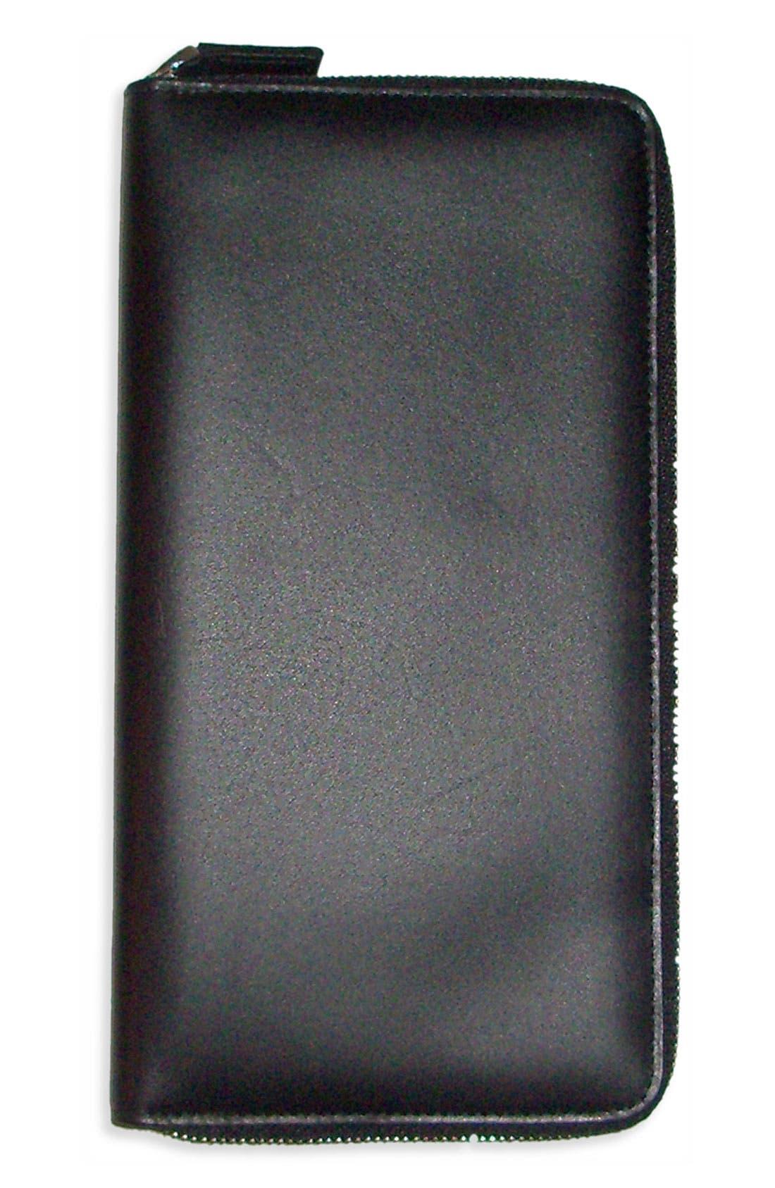 Alternate Image 3  - Boconi Leather Traveler Wallet