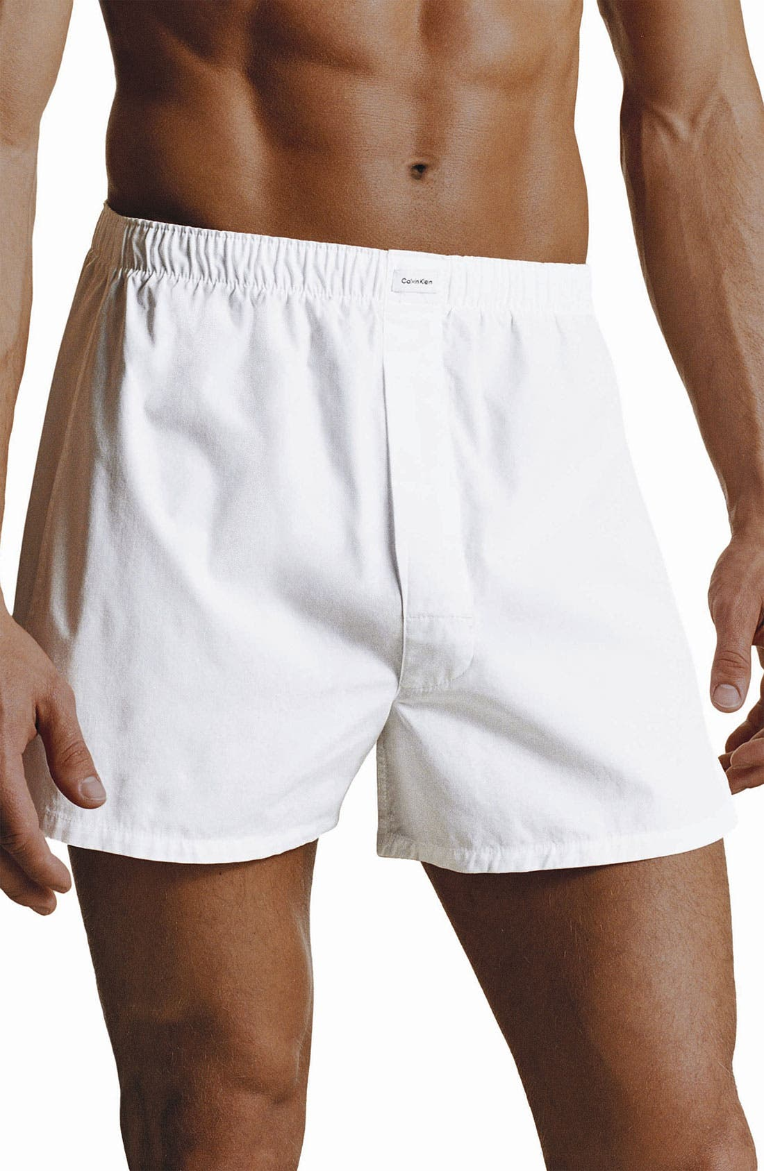 Alternate Image 1 Selected - Calvin Klein 'U1700' Traditional Fit Boxers