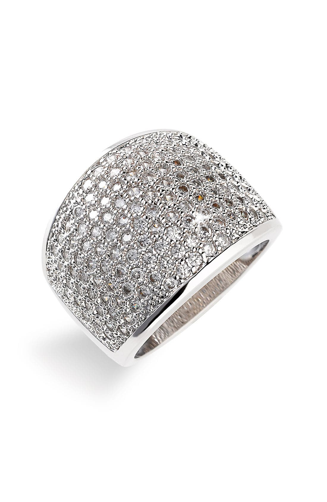 Alternate Image 1 Selected - Ariella Collection Pavé Ring