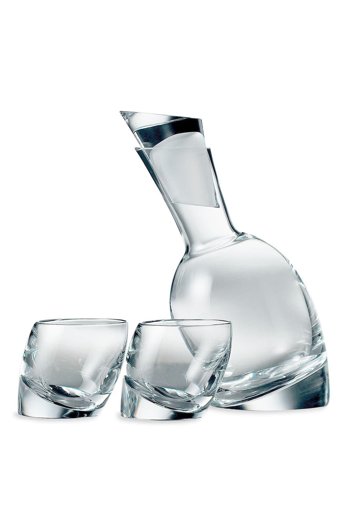 Alternate Image 1 Selected - Nambé 'Tilt' Decanter & Glasses Set