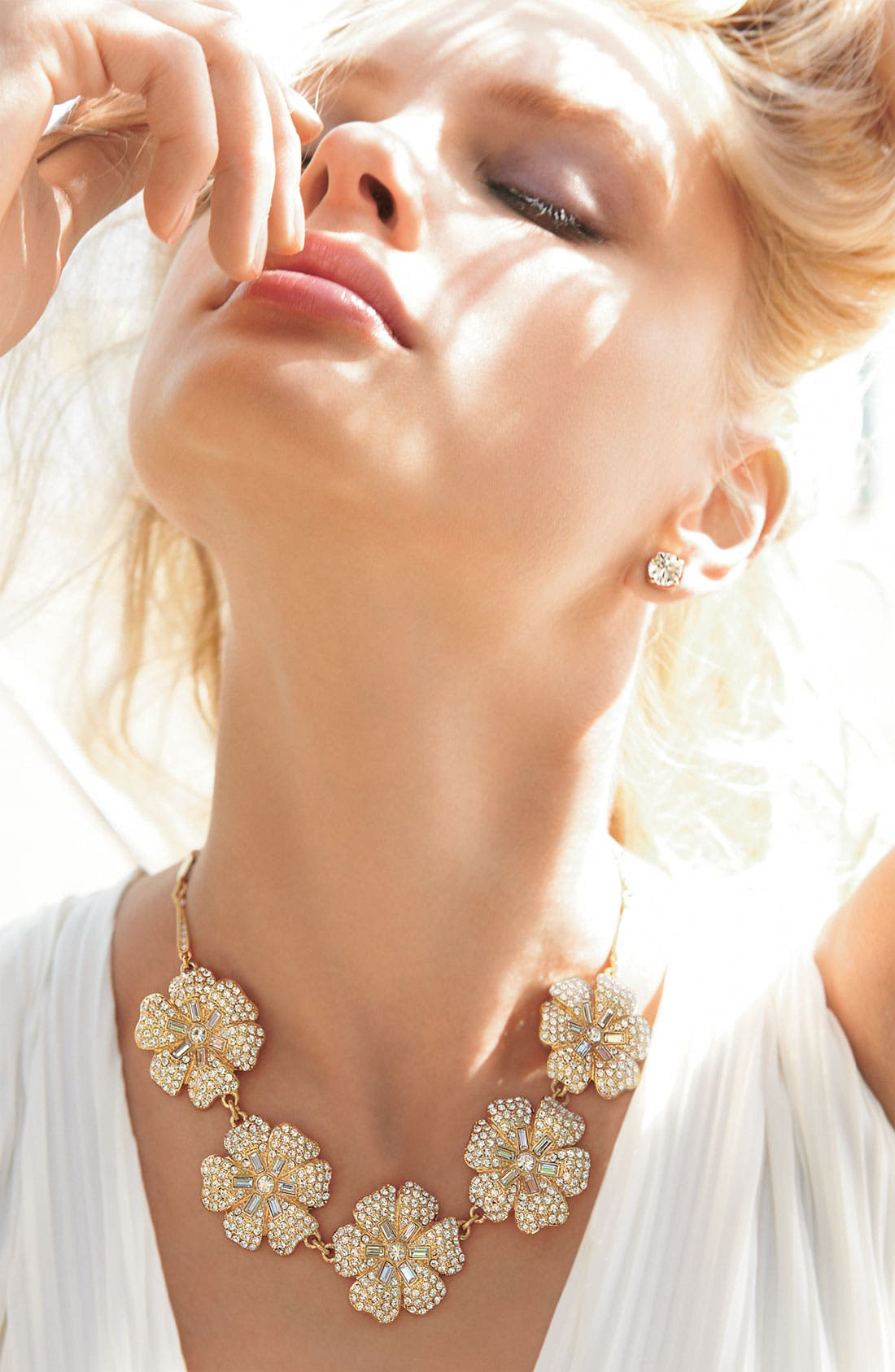 Alternate Image 3  - kate spade new york 'pavé posey' necklace