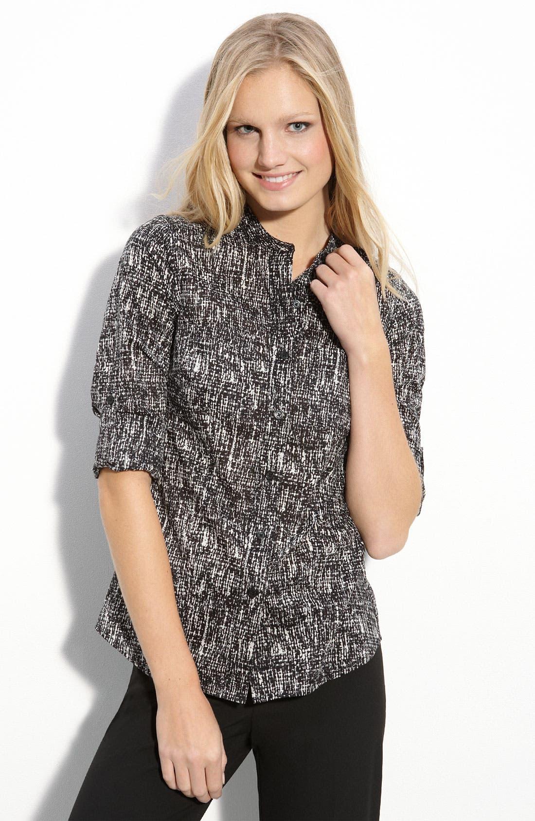 Main Image - MICHAEL Michael Kors Roll Sleeve Shirt