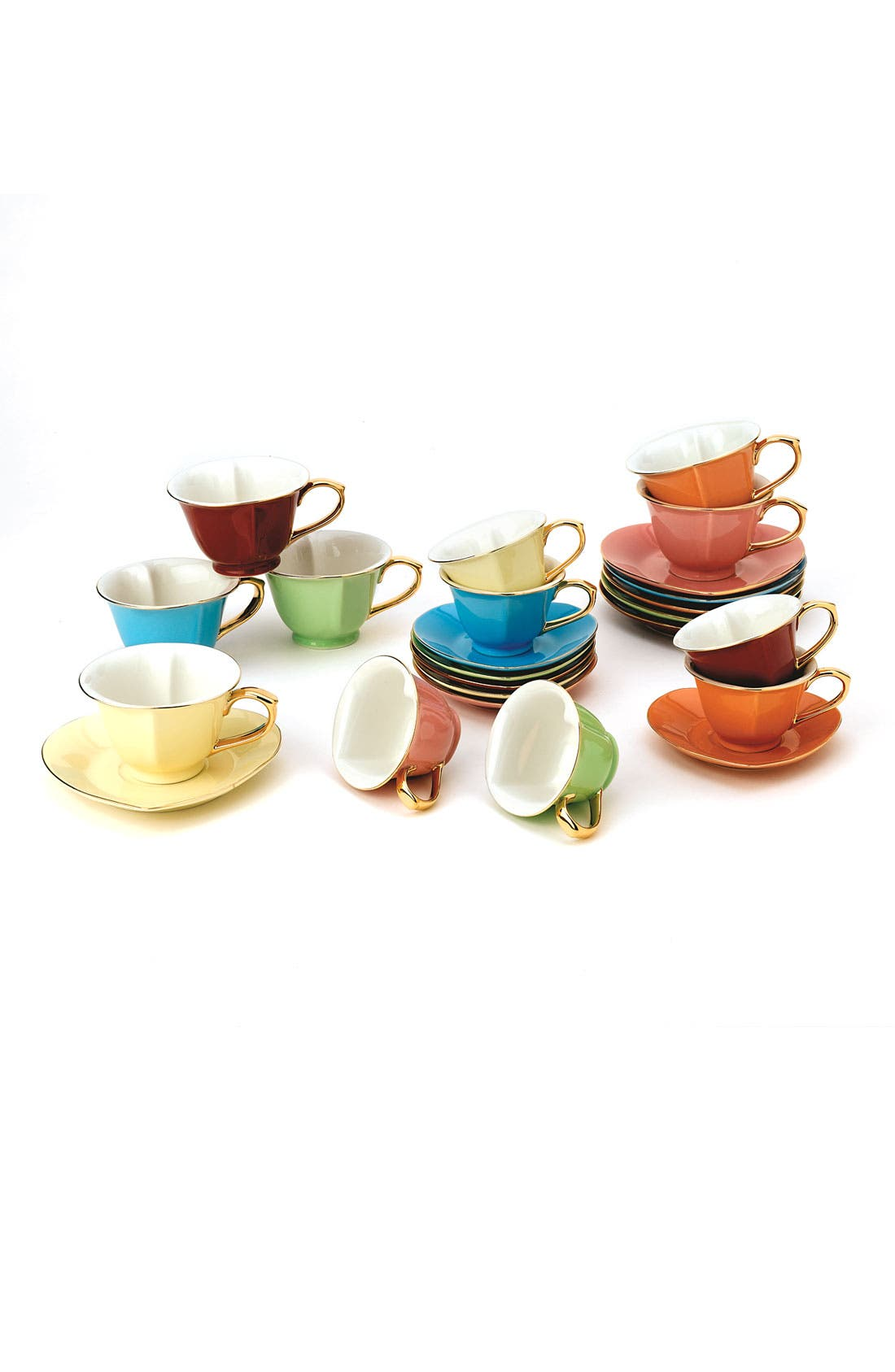 Alternate Image 2  - Yedi 'Inside Out Hearts' Cup & Saucer Set