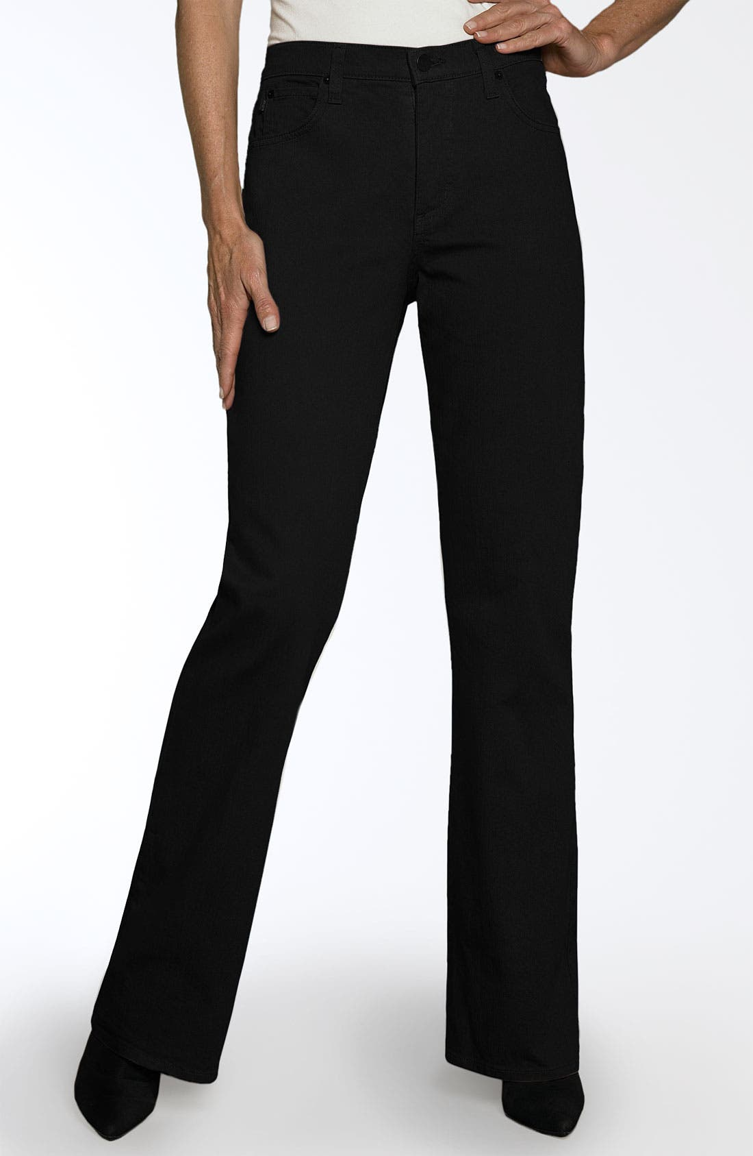Alternate Image 1 Selected - NYDJ 'Sarah' Stretch Bootcut Jeans (Regular & Petite)