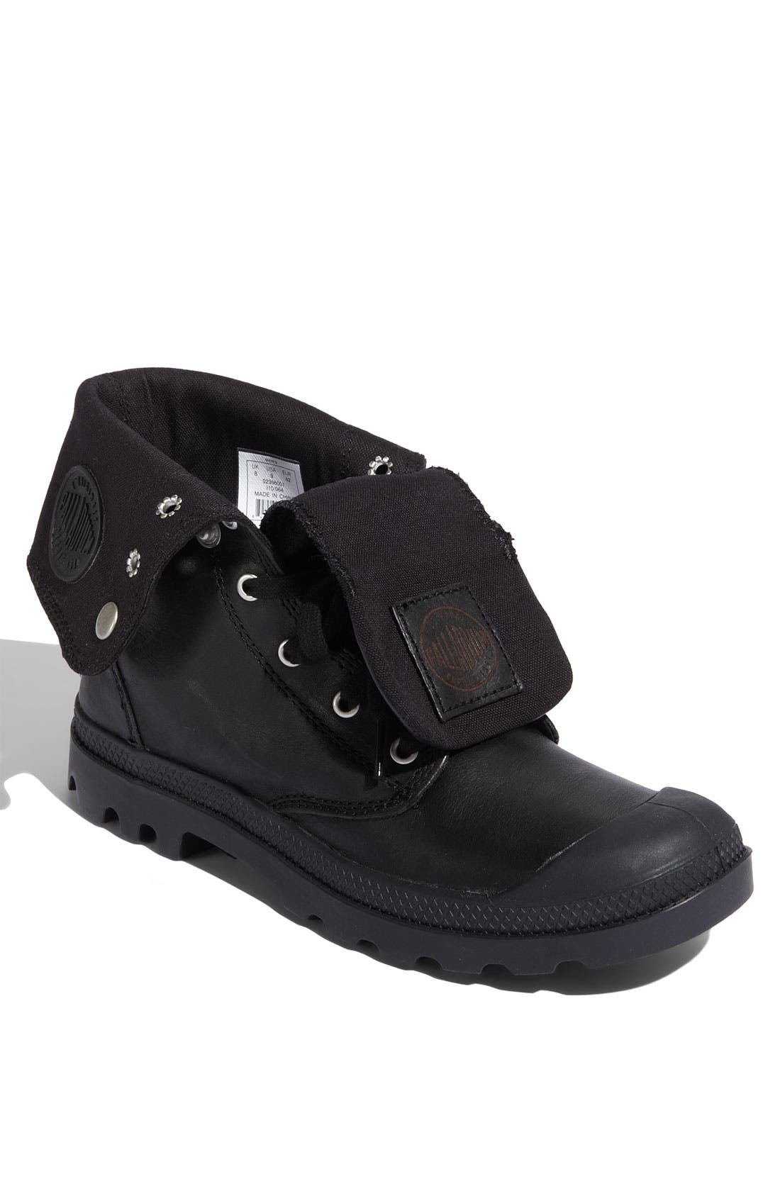 Main Image - Palladium 'Baggy' Leather Roll Down Boot