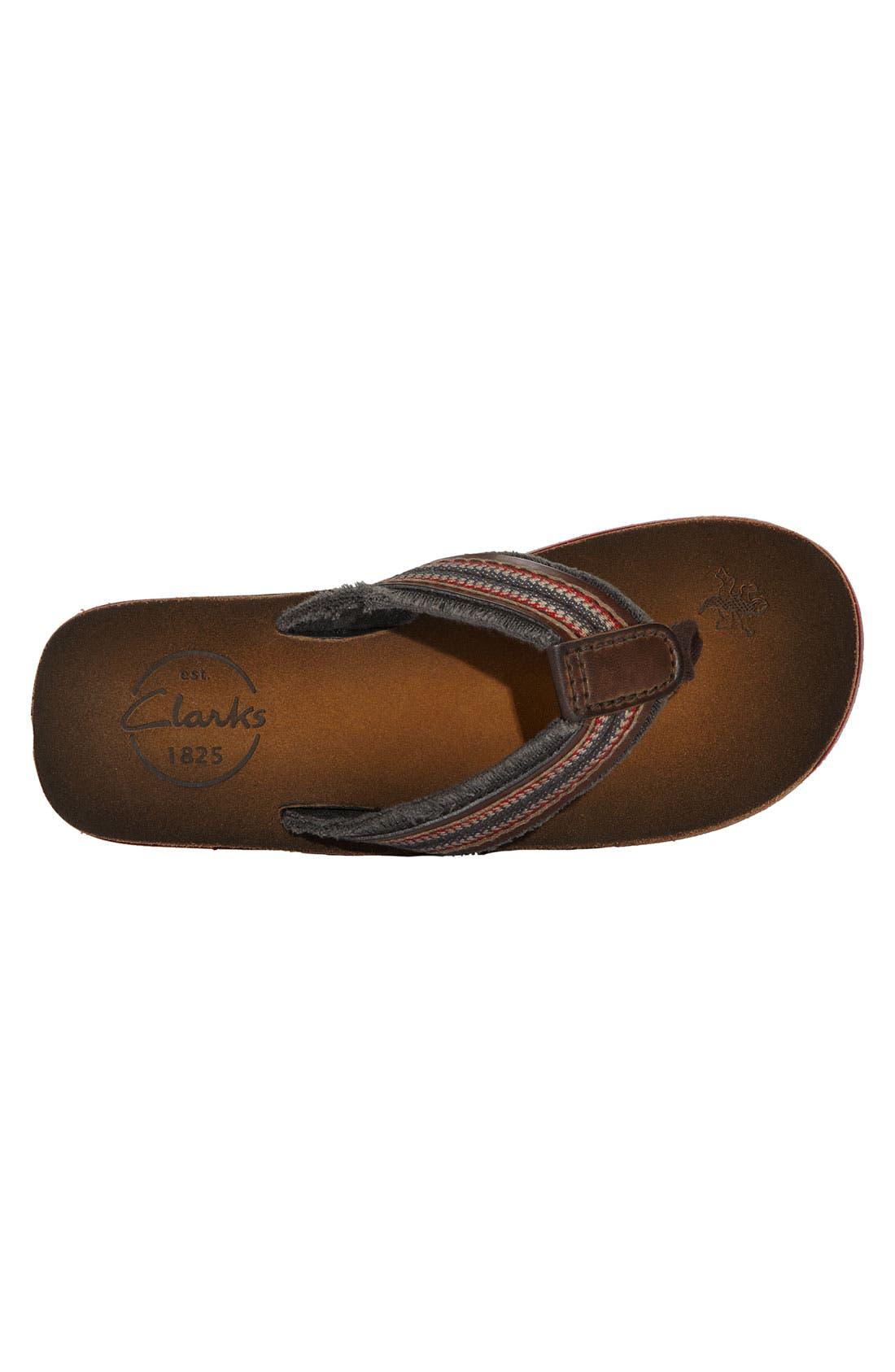 Alternate Image 3  - Clarks® 'Cayo' Flip Flop