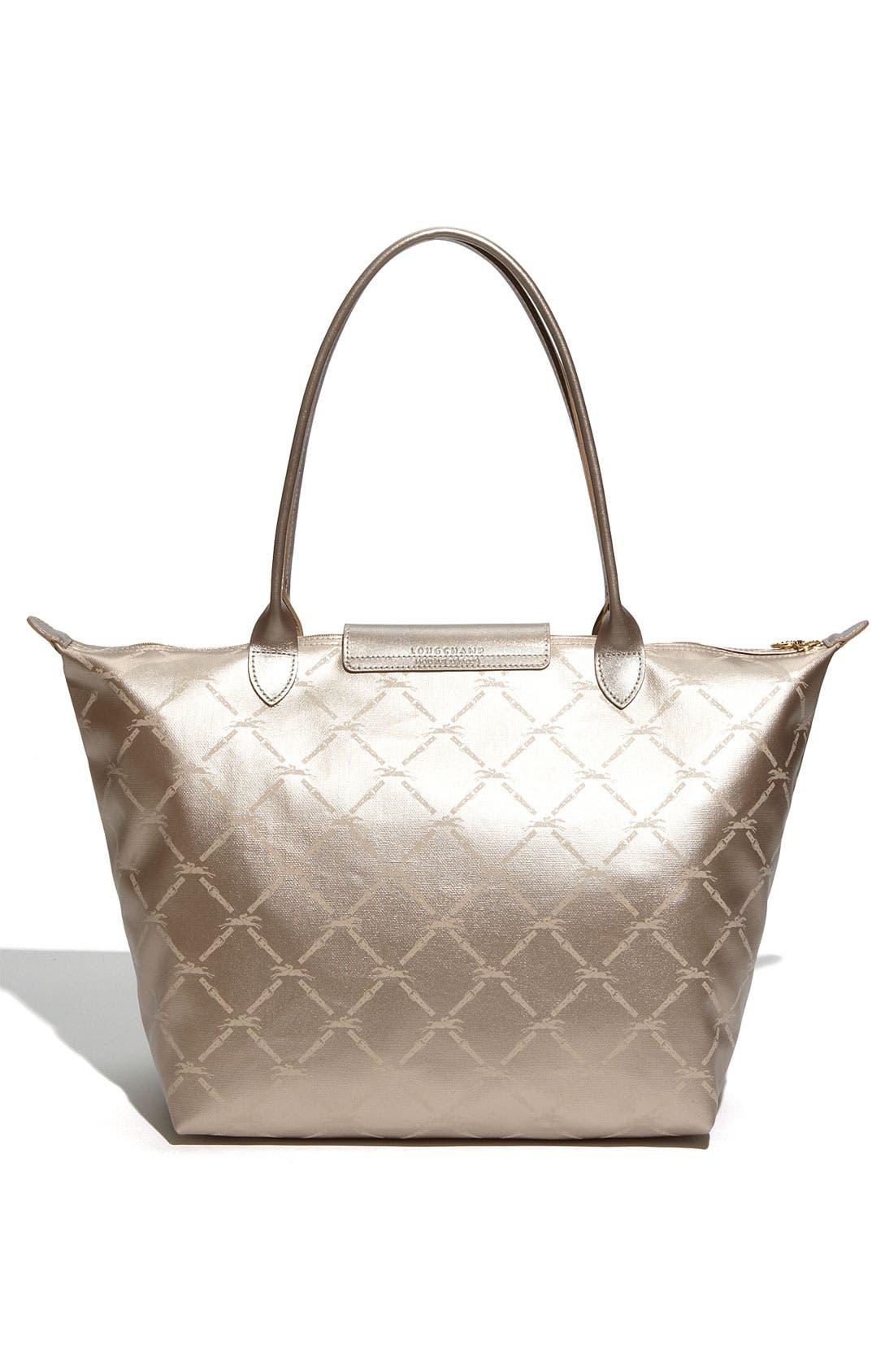 Alternate Image 4  - Longchamp 'LM Metal' Shoulder Tote