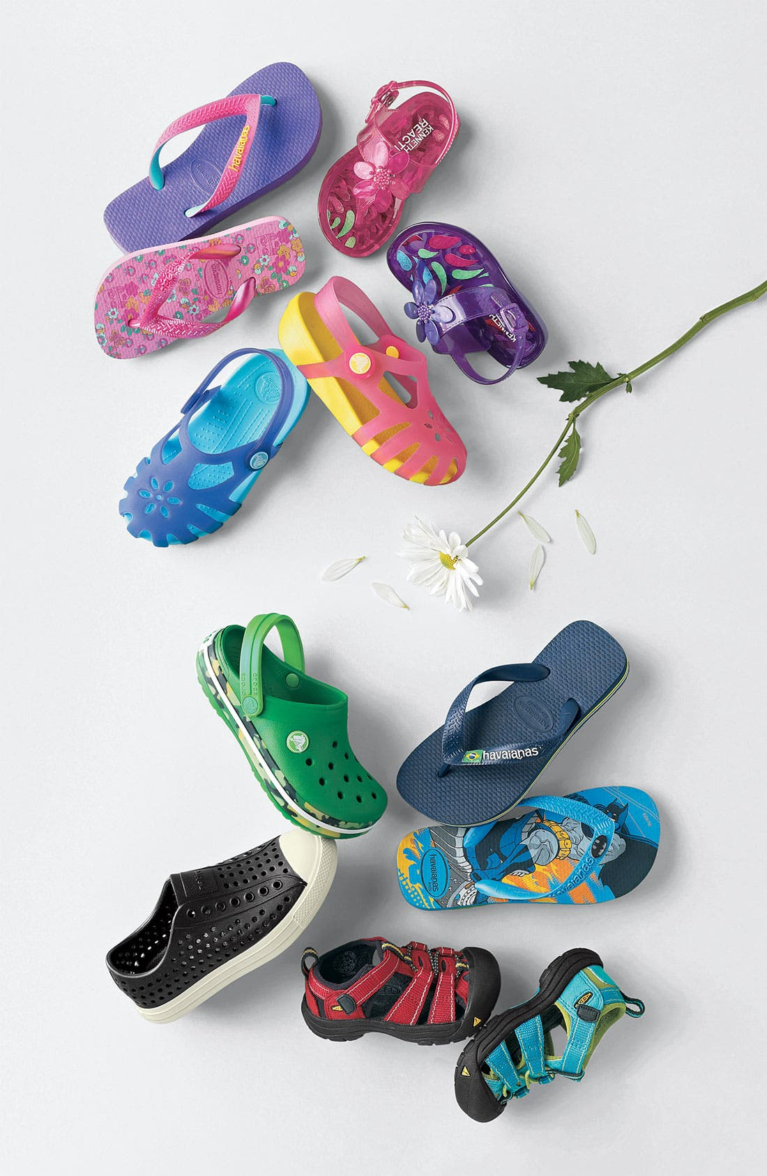 Alternate Image 5  - CROCS™ 'Crocband' Slip-On (Walker, Toddler & Little Kid)
