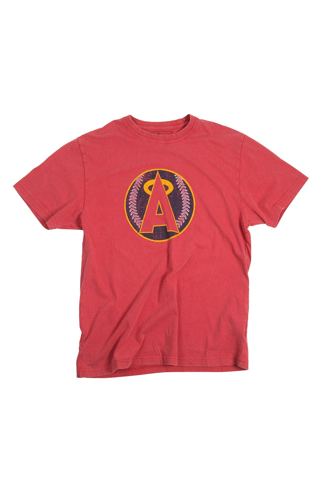 Main Image - Red Jacket 'Los Angeles Angels' Trim Fit T-Shirt (Men)