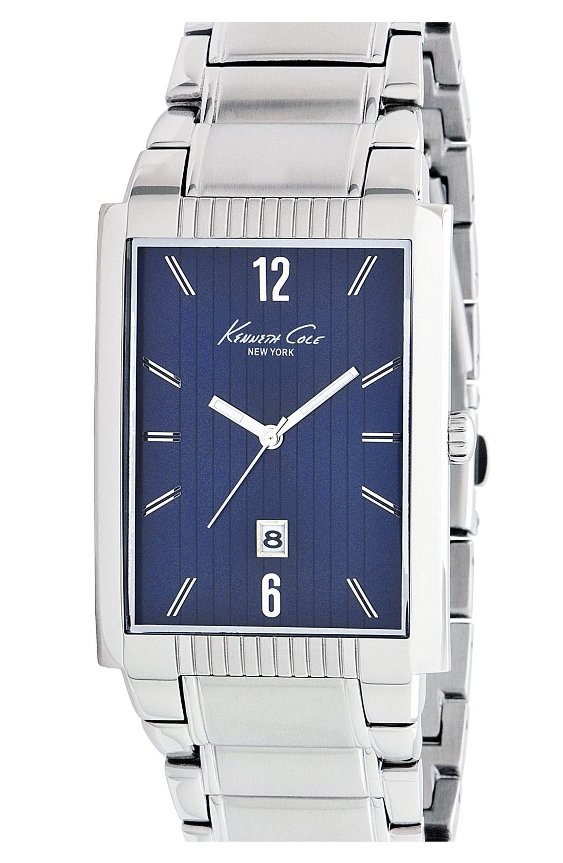 Main Image - Kenneth Cole New York Rectangular Bracelet Watch