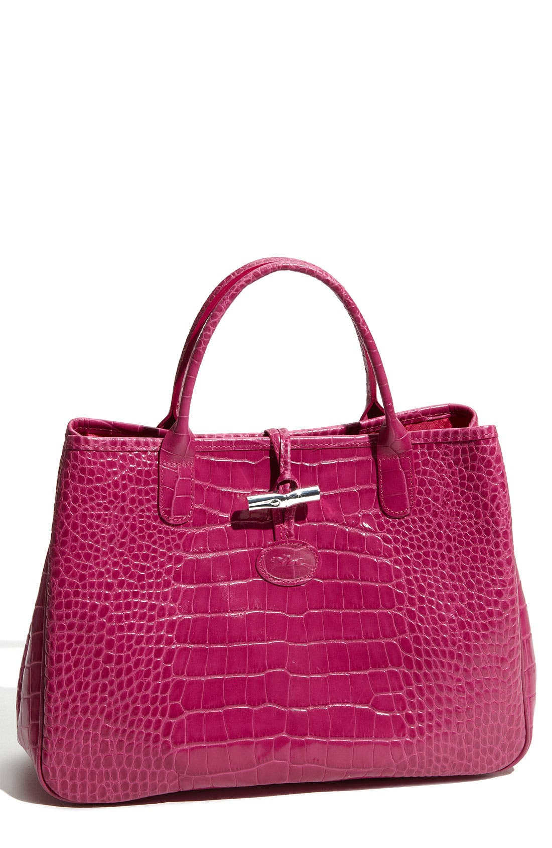 Alternate Image 1 Selected - Longchamp 'Roseau' Embossed Tote
