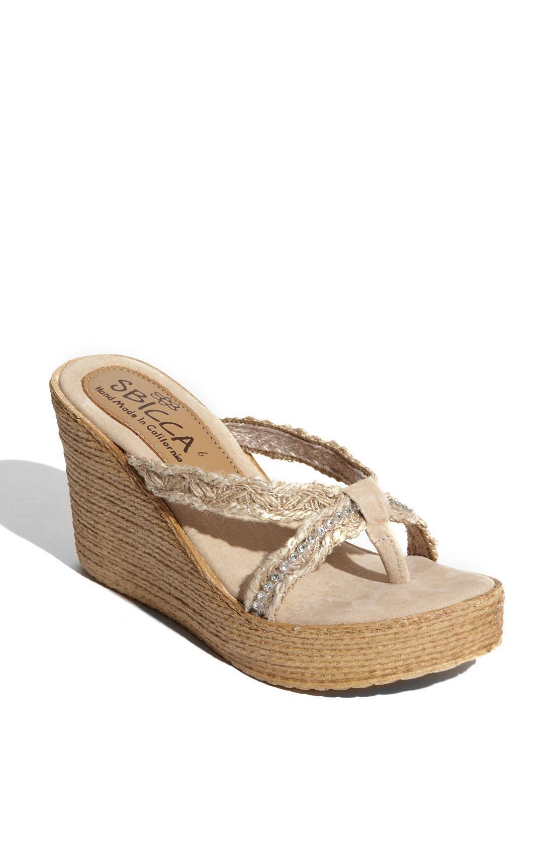 Alternate Image 1 Selected - Sbicca 'Jewel' Sandal