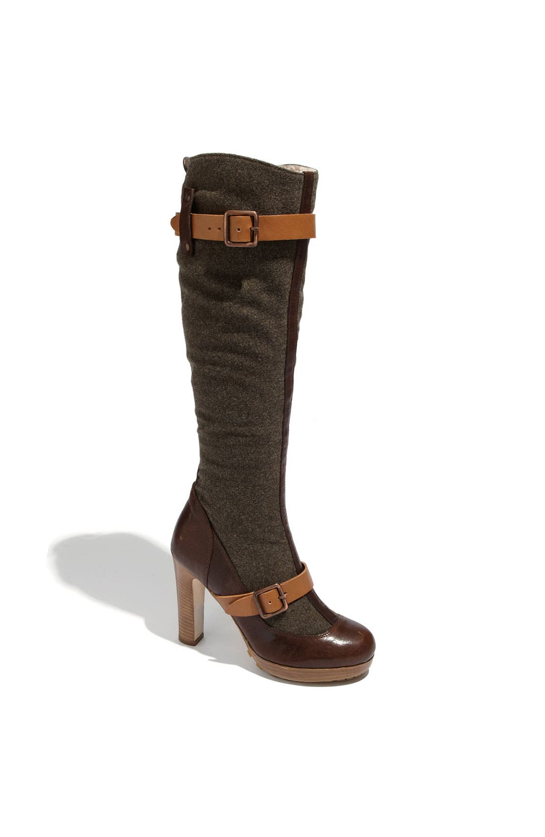Alternate Image 1 Selected - UGG® Collection 'Aniela' Genuine Shearling Lined Boot