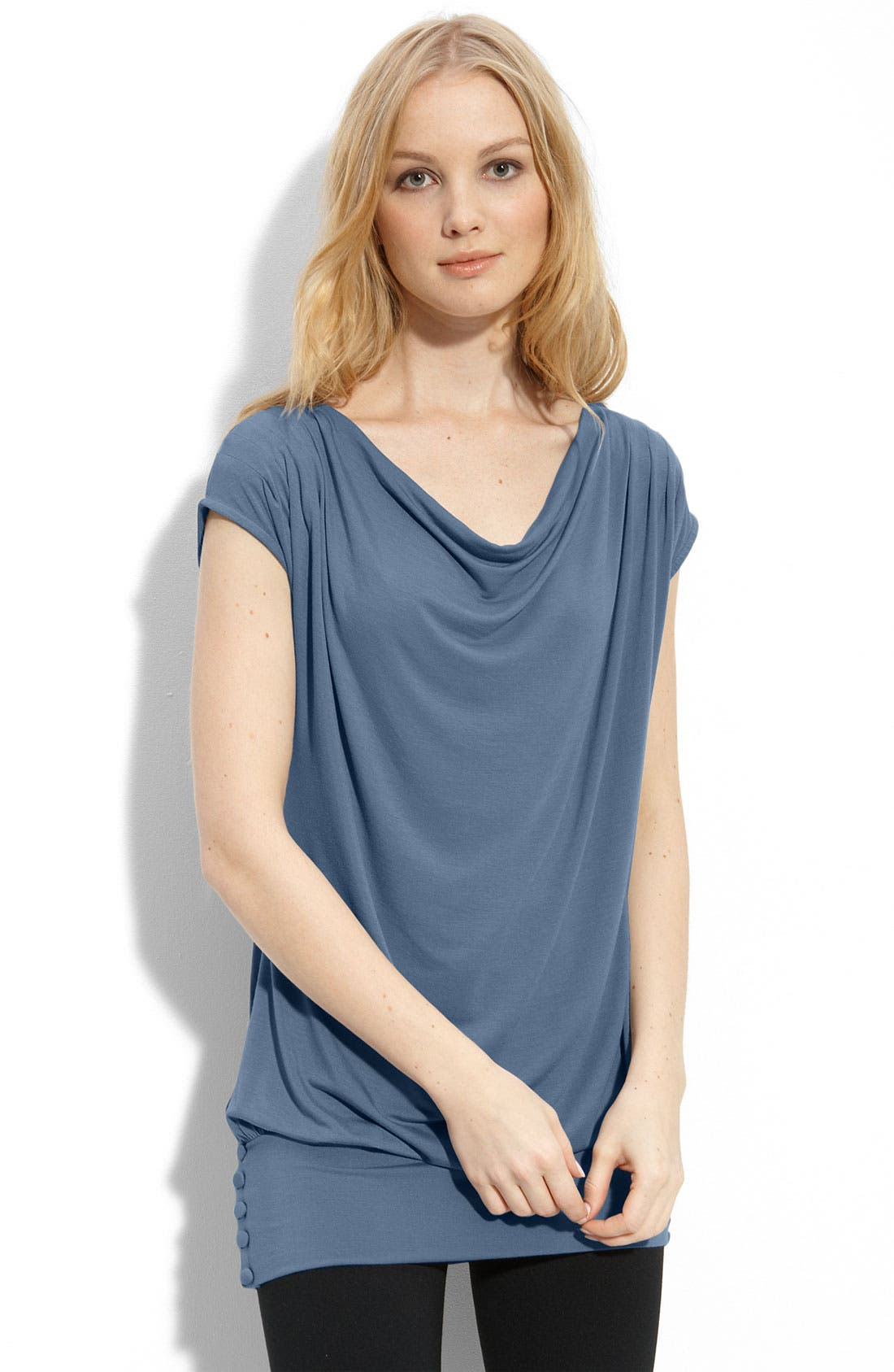 Alternate Image 1 Selected - Kische Drape Front Tunic