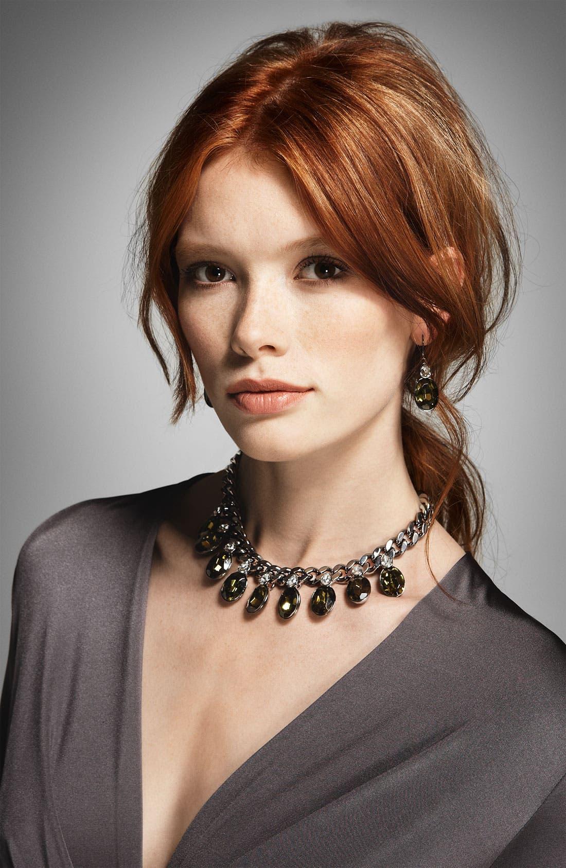 Alternate Image 2  - Givenchy Burnished Statement Necklace (Nordstrom Exclusive)