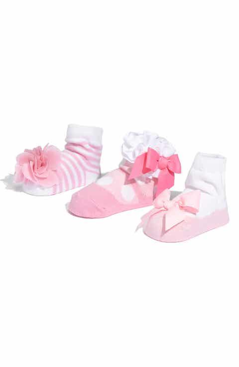 Mud Pie Socks Set (3-Pack)(Baby Girls)