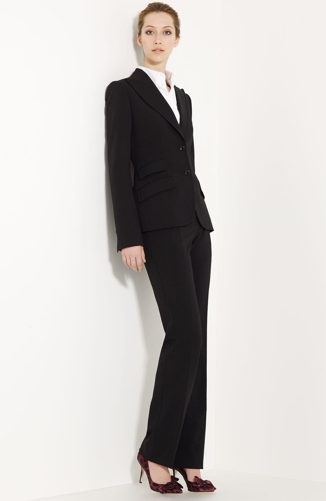 Alternate Image 2  - Dolce&Gabbana Stretch Woven Shirt