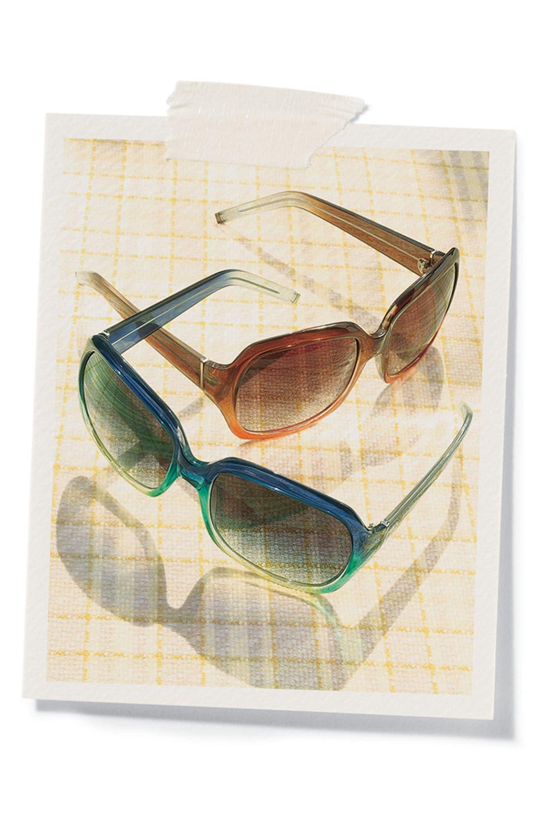 Alternate Image 2  - Halogen® Oversized Square Sunglasses