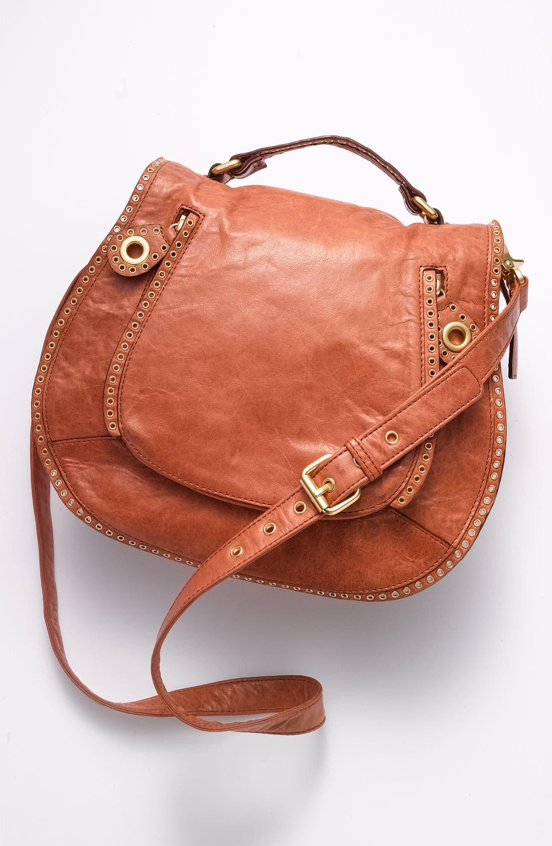 Alternate Image 4  - Rebecca Minkoff 'Vanity' Glazed Leather Crossbody Bag