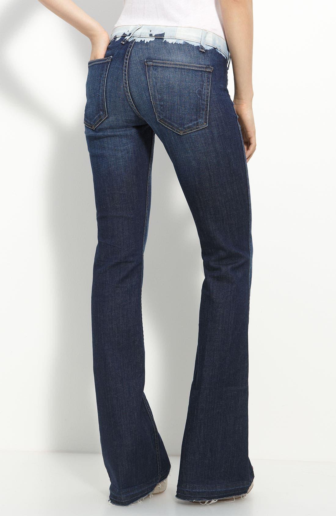 Alternate Image 2  - TEXTILE Elizabeth and James Flare Leg Stretch Jeans