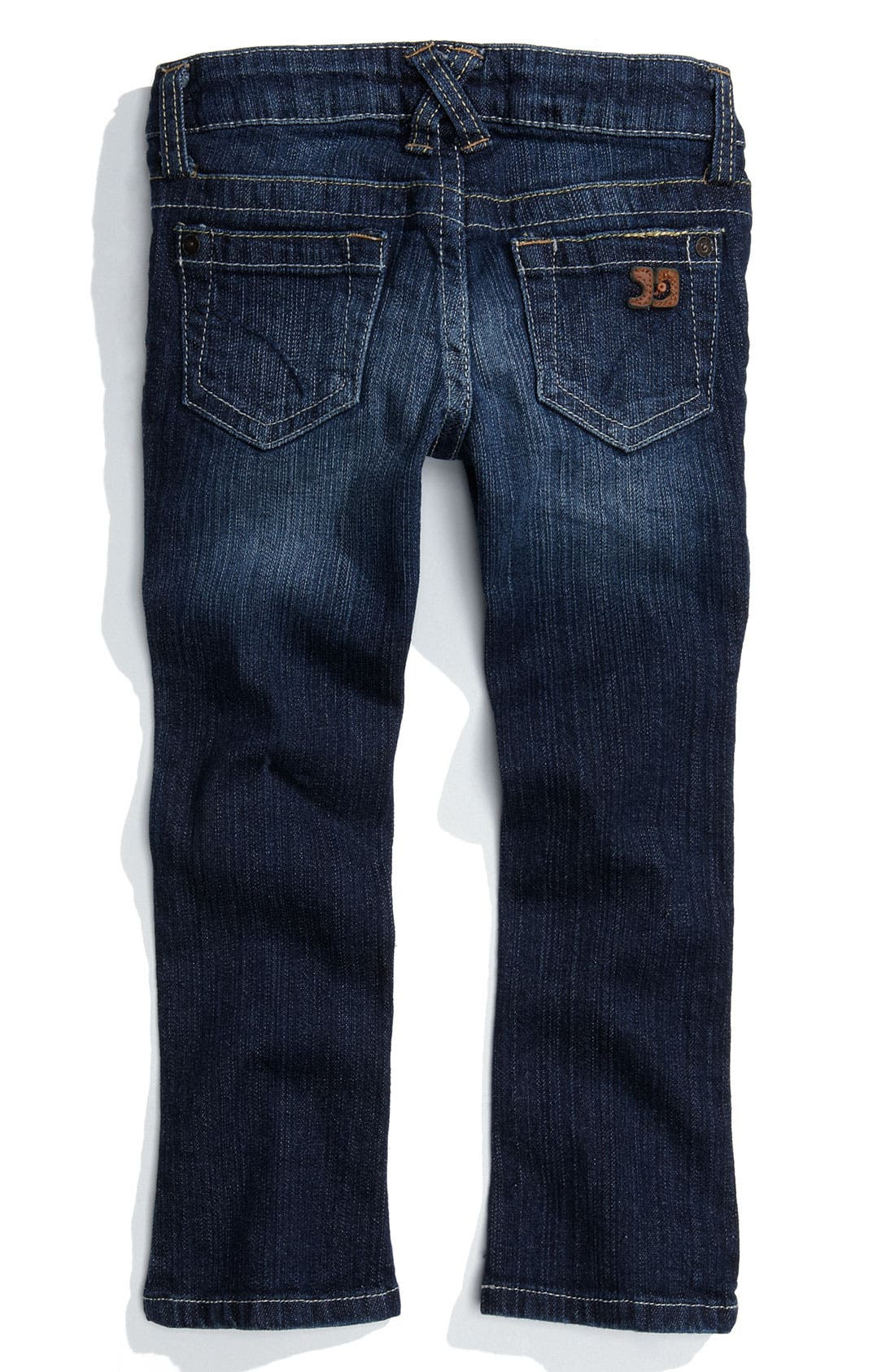 Alternate Image 1 Selected - Joe's 'Micro Flare' Jeans (Toddler Girl)