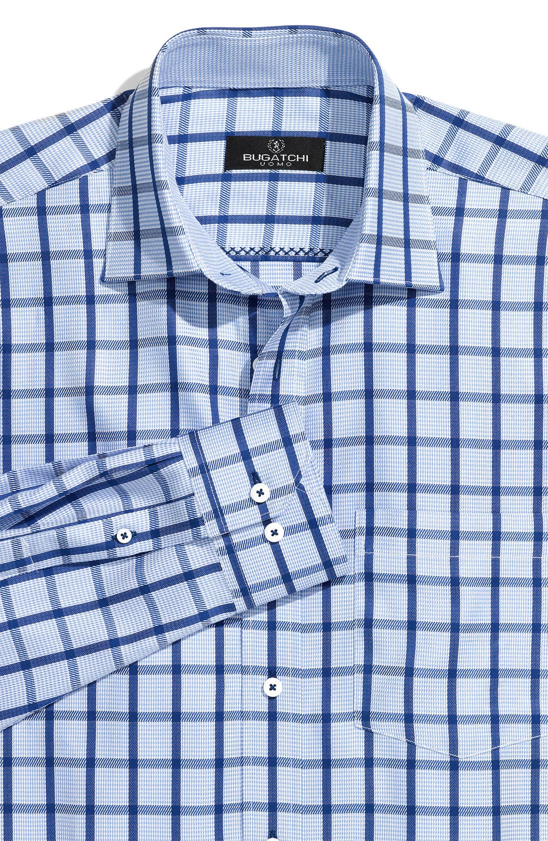 Main Image - Bugatchi Uomo Woven Sport Shirt