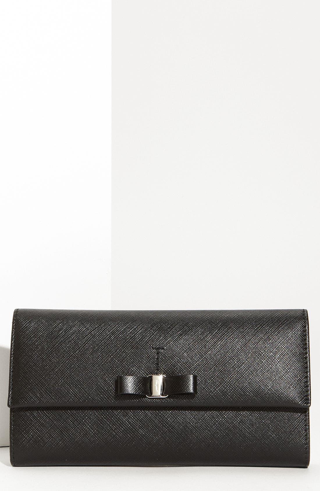 Alternate Image 1 Selected - Salvatore Ferragamo 'Vara' Continental Wallet