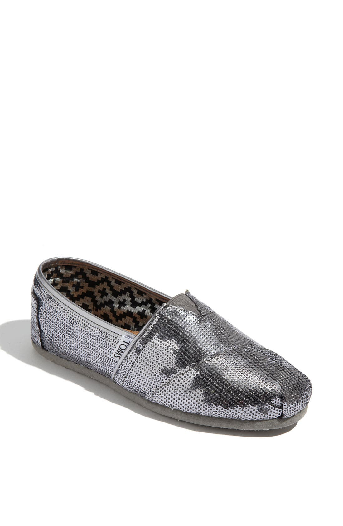 Alternate Image 1 Selected - TOMS 'Classic - Sequins' Slip-On (Women)
