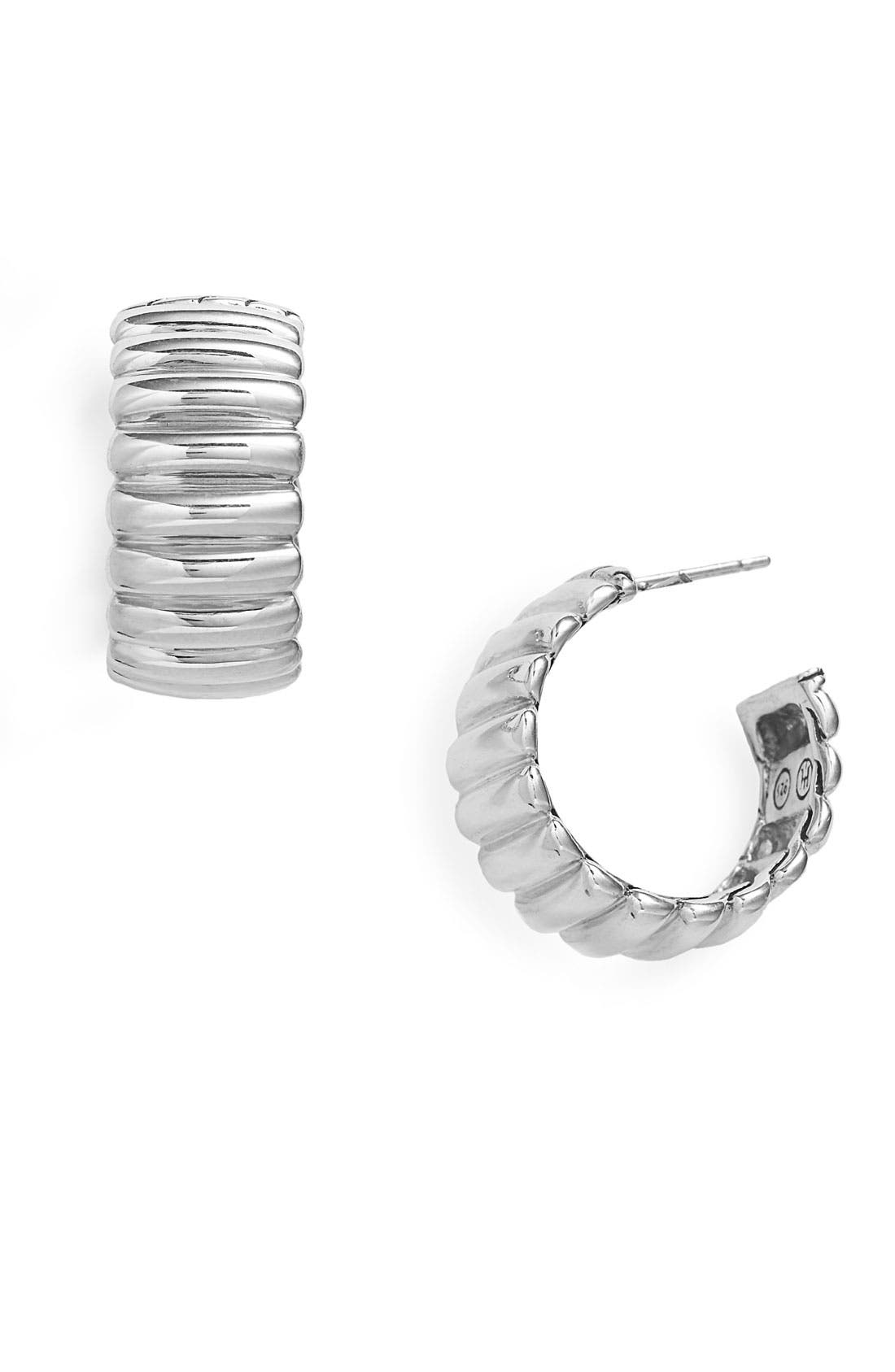 Alternate Image 1 Selected - John Hardy 'Bedeg' Small Hoop Earrings
