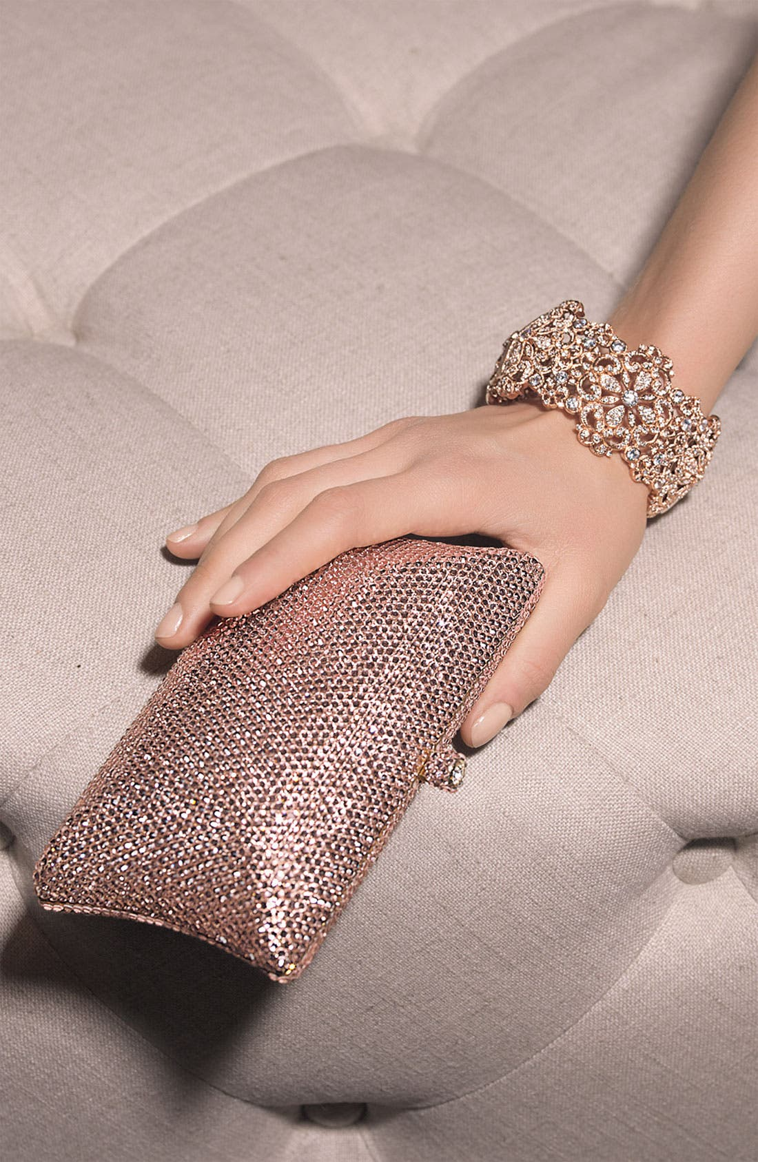 Alternate Image 2  - Tasha Rhinestone Clutch
