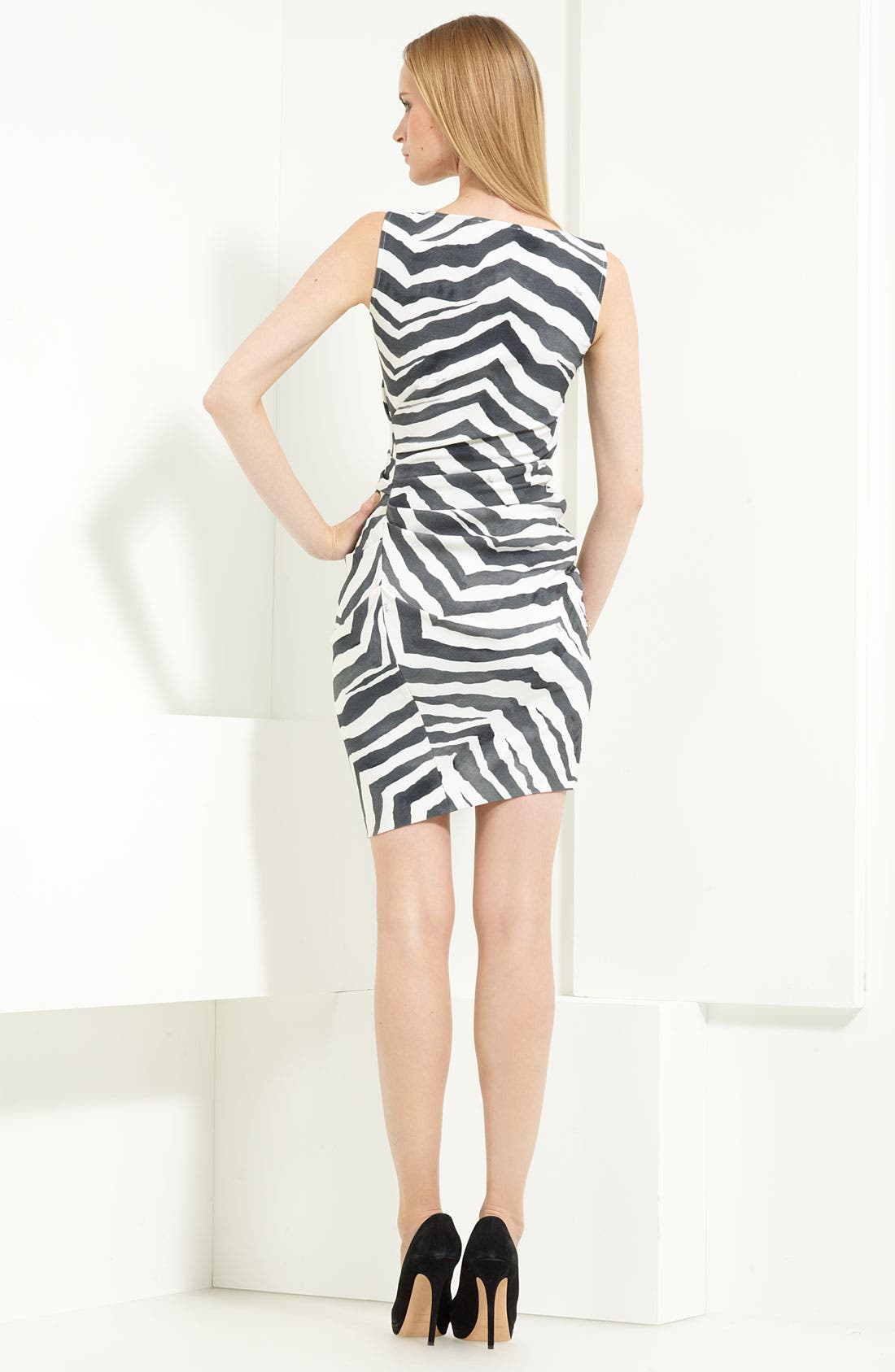Alternate Image 2  - Emilio Pucci Stretch Wool Blend Dress