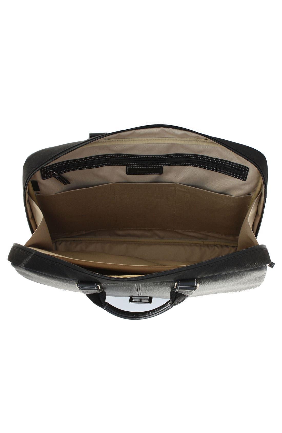 Alternate Image 3  - Boconi 'Tyler' Tumbled Leather Portfolio Briefcase