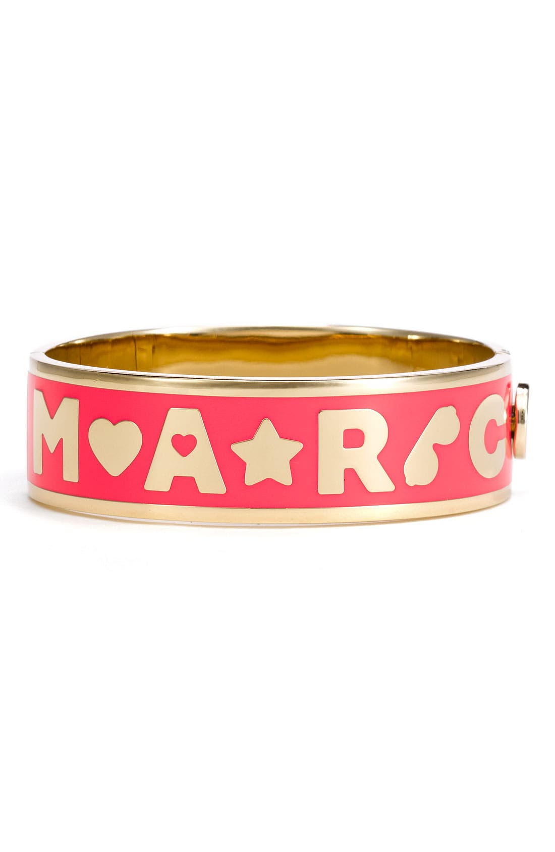 Alternate Image 1 Selected - MARC BY MARC JACOBS 'Mini Charms' Icon Hinged Bracelet