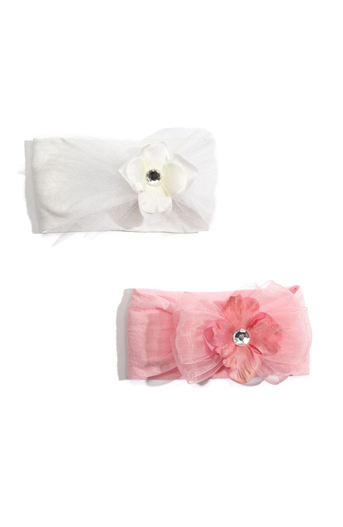 Alternate Image 1 Selected - Baby Bling™ Tutu Headband (2-Pack ) (Infant)