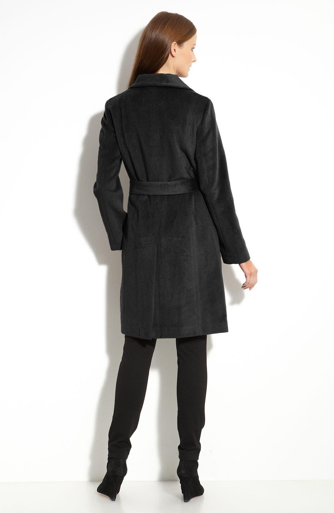 Alternate Image 2  - Calvin Klein Belted Coat