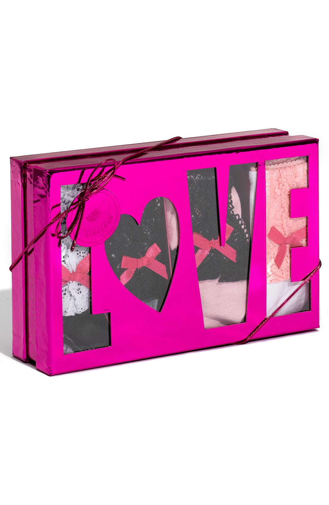 Main Image - Honeydew Intimates 'Pink' Low Rise Hipster Briefs Gift Set